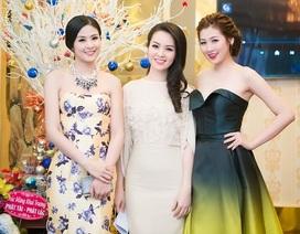 Hoa hậu Ngọc Hân khoe sắc cùng á hậu Tú Anh, Thụy Vân