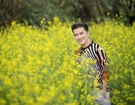 Mr.Đàm nổi bật giữa vườn xuân Hà Nội