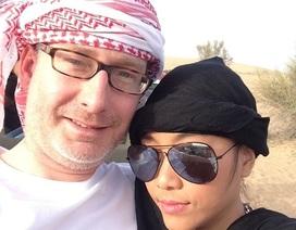 """Đoan Trang cùng chồng """"trốn con"""" đi hưởng tuần trăng mật muộn ở Dubai"""