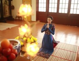 Hoa hậu Siêu quốc gia Việt Nam 2015 hoài cổ đầu năm mới