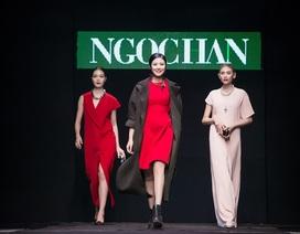 Chiêm ngưỡng bộ sưu tập thời trang thu đông của hoa hậu Ngọc Hân