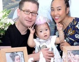 Ngắm bé gái xinh xắn nhà Đoan Trang