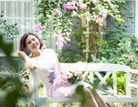 Vân Trang và những khoảnh khắc ngọt ngào với hương hoa