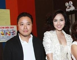 Victor Vũ tháp tùng Đinh Ngọc Diệp ra mắt phim