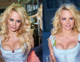 """""""Quả bom sex"""" Pamela Anderson khoe ngực kêu gọi bảo vệ động vật"""
