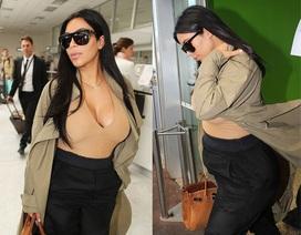 Cô Kim siêu vòng ba lần đầu lộ bụng bầu