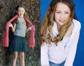 Miley Cyrus gây sốc với hình ảnh khi còn ngây thơ trong sáng