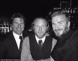 David Beckham tập tành diễn xuất