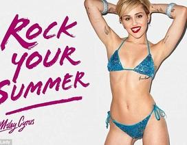 Miley Cyrus khoe thể hình săn chắc trong bikini ánh kim