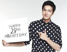 Lee Min Ho vừa hát vừa làm từ thiện đón sinh nhật thứ 28