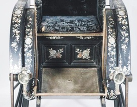 Cổ vật xe kéo tay vua Thành Thái chính thức về Việt Nam
