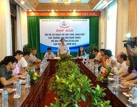 Hơn 1.200 tài năng trẻ khối VH, TT, DL thi tài tại Huế