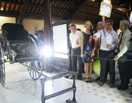 Làm rõ nghi vấn xe kéo vua Thành Thái tặng mẹ