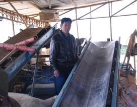 Nông dân sáng chế máy biến rác thải thành phân hữu cơ