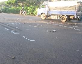 Nam thanh niên bị ô tô tải lấn đường tông tử vong