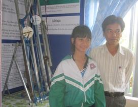 Cô học trò Bahnar đạt giải sáng tạo khoa học, kỹ thuật