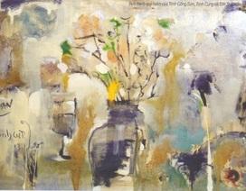 Bức tranh chưa từng công bố của Trịnh Công Sơn