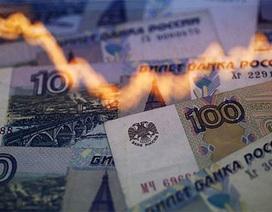 Đồng Rúp Nga mất giá mạnh nhất trong 16 năm
