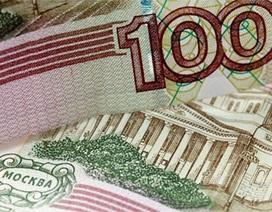 Đồng Rúp rớt mạnh theo giá dầu
