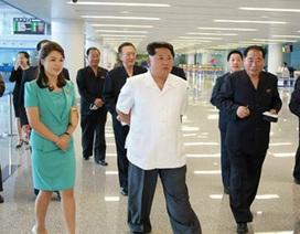 Kim Jong Un thị sát nhà ga mới sân bay Bình Nhưỡng