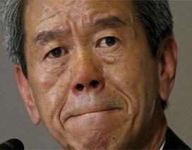 """""""Sếp tổng"""" Toshiba từ chức vì vụ bê bối """"tỷ đô"""""""