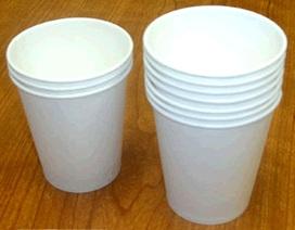 Hà Nội: Phát hiện cốc, đĩa giấy nhiễm kim loại nặng