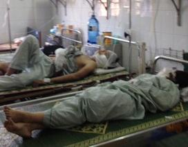 Hà Nội: 13 người bị bỏng trong vụ cháy quán bar Luxury