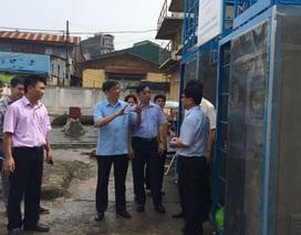 Hà Nội: Nhiều mẫu nước sinh hoạt nhiễm asen, vi sinh vật