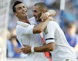 C. Ronaldo lập công, Real Madrid đánh bại Hertha Berlin