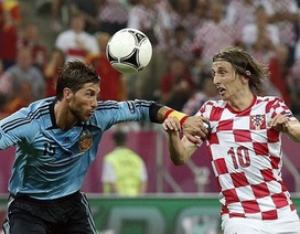 Modric hoàn tất thủ tục để gia nhập Real Madrid
