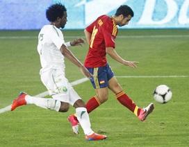 """David Villa tỏa sáng, Tây Ban Nha """"hủy diệt"""" Ả rập xê-út"""
