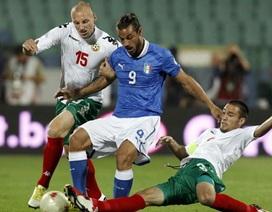 Osvaldo lập cú đúp, Italia vẫn bị cầm hòa trên sân Bulgaria