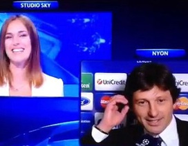 Giám đốc điều hành PSG cầu hôn bạn gái trên truyền hình