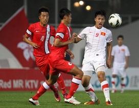 Đội tuyển Việt Nam gục ngã trên sân của Hong Kong