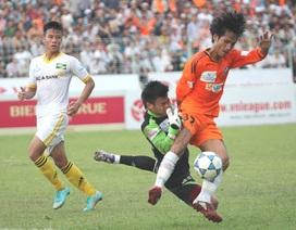 Công Vinh lập cú đúp, SL Nghệ An vẫn bại trận trước SHB Đà Nẵng