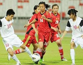 Tuyển nữ Việt Nam giành vé dự VCK Asian Cup 2014