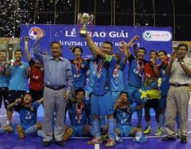 Thái Sơn Nam vô địch futsal Việt Nam 2013