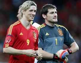 Tây Ban Nha đưa Torres, Casillas vào danh sách dự Confederations Cup