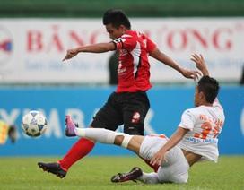 Vòng 11 V-League 2013: ĐT Long An sẽ đứng… cuối bảng lượt đi?