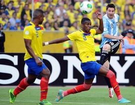 Messi tái xuất, Argentina vẫn bị Ecuador chia điểm