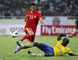Những hình ảnh ấn tượng trận tuyển Việt Nam-Arsenal trên báo Anh