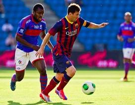 Barca hạ Valerenga 7-0 trong ngày chào đón HLV Martino