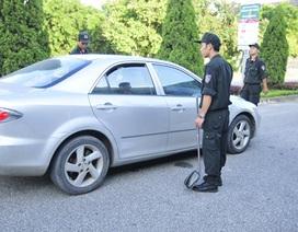 Công tác bảo đảm an ninh thắt chặt trước trận đấu