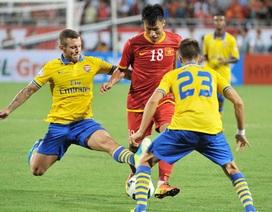 Thua Arsenal toàn diện, tuyển Việt Nam nhận thất bại 1-7