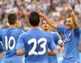 Benzema tỏa sáng giúp Real Madrid đánh bại PSG