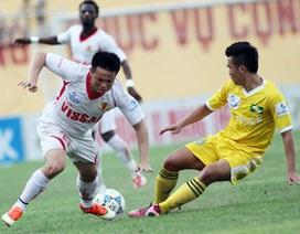 HA Gia Lai lên nhất bảng, SL Nghệ An hòa thất vọng