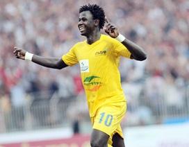 Danh hiệu Vua phá lưới V-League: Cơ hội cho Abass