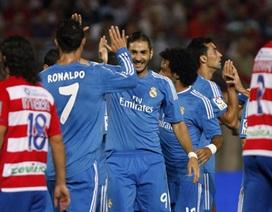 Real Madrid giành 3 điểm nhọc nhằn trên sân của Granada