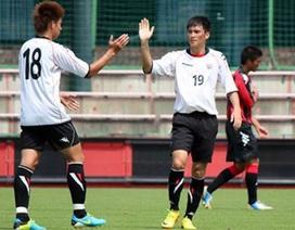 Công Vinh lập cú đúp trong trận đấu tập của Consadole Sapporo