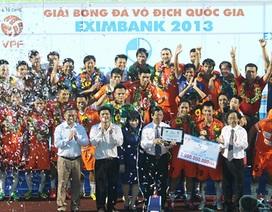 Thắng Thanh Hóa, SHB Đà Nẵng giành ngôi Á quân V-League 2013
